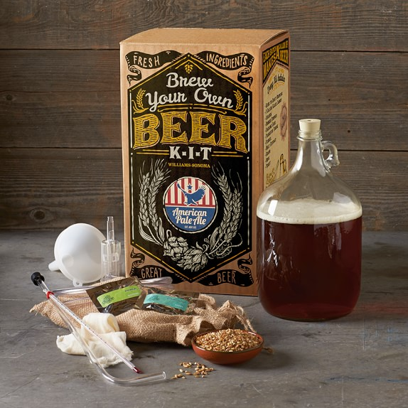 Home With Using Brewing Kits